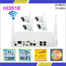 Popular Excellent 1.0Megapixels 720P Outdoor WIFI IP Camera Economic wireless security camera kit