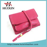 Fahsion smart wallet functional leather coin purse for women