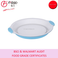 0.4MM Carbon Steel Baking Pan with White Ceramic Coating
