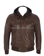 Home Men Jackets , Coats Bomber Jackets , Brown Bomber Jackets