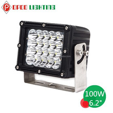 "High Power 6"" Rectangle 100W Led Work Light, 4WD Truck 100W Led Work Light"