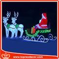 2014 adornos navideños decoración de la Navidad luz