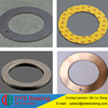 platinum cure silicone Slide bushing,plastic o rings steel backing DU washer, DX washer