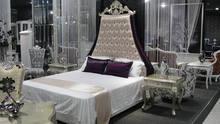 danxueya Classic bedroom,elegant oak wood carving bed Customized unique design bed for sale