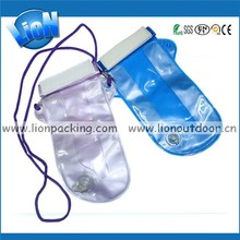 Fashion Waterproof Bag Mobile Phone / Camera Pouch