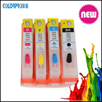 Alibaba china refill ink cartridge/With one time chip refill ink cartridge for Hp 655 670 685