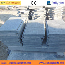 Natural Chinese blue stone external bullnose coping