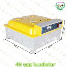 buona qualità automatico mini uovo incubatrice 48 uova termostato digitale per incubatore