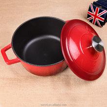 home kitchen eco-friendly cookware cast iron non-stick stew pot