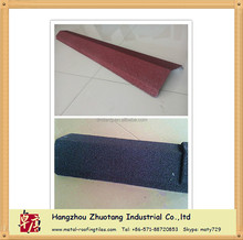 Metal Roof Tiles Accessories Flat Sheet Valley Tray Square Ridge capping