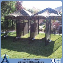 High quality metal cheap or galvanized comfortable portable dog pens