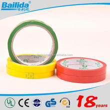 Alibaba china manufacturer custom packaging Bopp Green Plant Tie Tape free samples