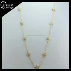 xinmei new style sweater chain necklace star necklace