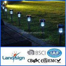 OEM factory 2015 new solar garden light series decorative garden lights type S.S rechargeable garden solar light cat