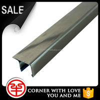 outdoor non slip stair nose, metal edging strips, edge protection