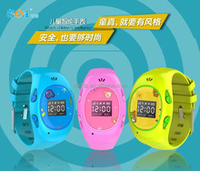 Mini kids tracking device GPS wrist watch for kids