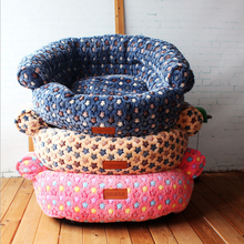The Solid With Thick Soft Mini Cute Pet Bed Dog Bed