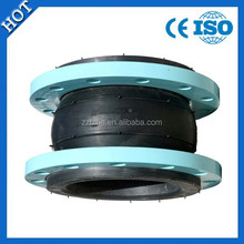 High pressure single bellow rubber expansion joints with Flange