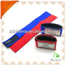 Neoprene rubber hook and loop elastic bands