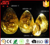 wholesale glass large easter egg decorations with light