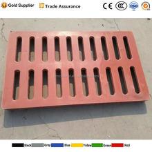 factory sale composite polymer plastic floor drain grate