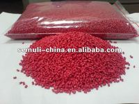 SGS,ROHS,COA,FDA red color masterbatch for PE/PP/ABS