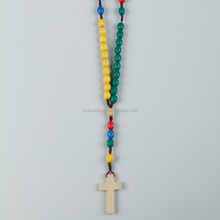 2015 Antique Pine Wood Rosary