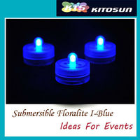One single led warm tea light battery operated waterproof LED vase light candle