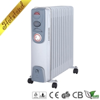 Home use electric 7 fins/9 fins/11 fins/13 fins oil filled small radiator heater