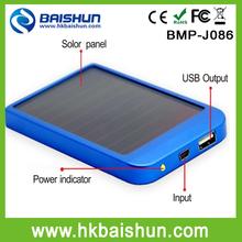 SOLAR 2600mah External Battery Backup Charger Case Pack Power Bank iphone samsuang ipad laptop tablet