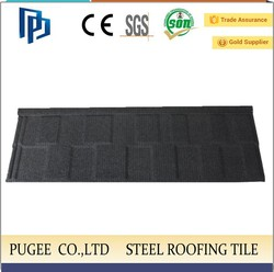 building material in good quality colorful stone coated metal roofing tiles