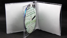China dark jewel cases cardboard CD case printing wholesale CD pockets
