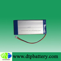 High quality lithium-ion battery 3.7v 1500mah rechargeable lithium polymer battery