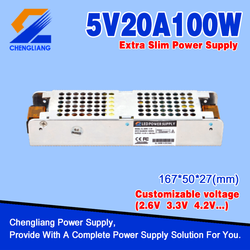 Extra slim led Switching Power Supply With CE RoHS FCC