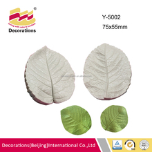 High quality veined silicone flowers artificial for cake decorating