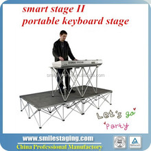 outdoor stage and stage truss for dj equipment stage lighting truss