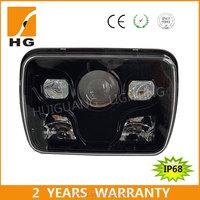 HG-1034B hi/low beam square 5x7 led headlight