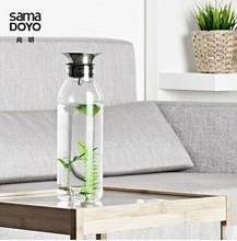 Samadoyo 900ml Borosilicate Glass Drink Bottles With Water Bottles