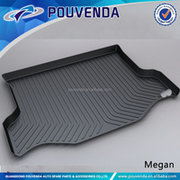 12+ 3D Car boot liner/car cargo mat for Toyota RAV4 2014+ 4X4 auto accessories
