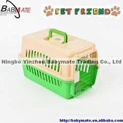 BMP0071 NINGBO BABYMATE Large Plastic Dog Kennel, Pet Carrier Cage
