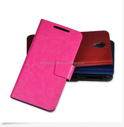 Hot selling luxury good quality leather phone case cover in Dongguan