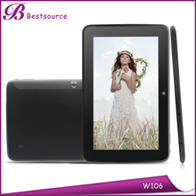 10.6 Inch ultrathin frame design quad core with WIFI BT GPS FM Android Tablet PC
