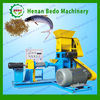 China manufacturer floating fish feed pelleting machines for fish farming