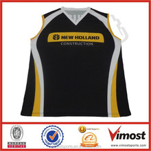 sublimated tight fit basketball jersey