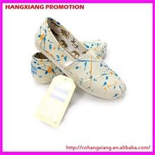 Small MOQ Wholesale Shoes Women Cheap Espadrilles Canvas Fabric Shoe