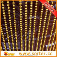 hanging plastic bead chain curtain for interior decoration