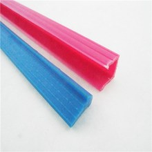 custom plastic glass sealing strip