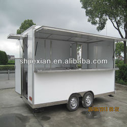 2014 JX-FS420B 2014 newly outdoor Mobile fast food trailer food van food truck build