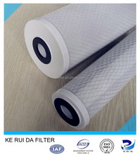 """10"""" 20"""" CTO Filter Activated Carbon Block Filter with Coal Carbon Or Coconut Carbon"""