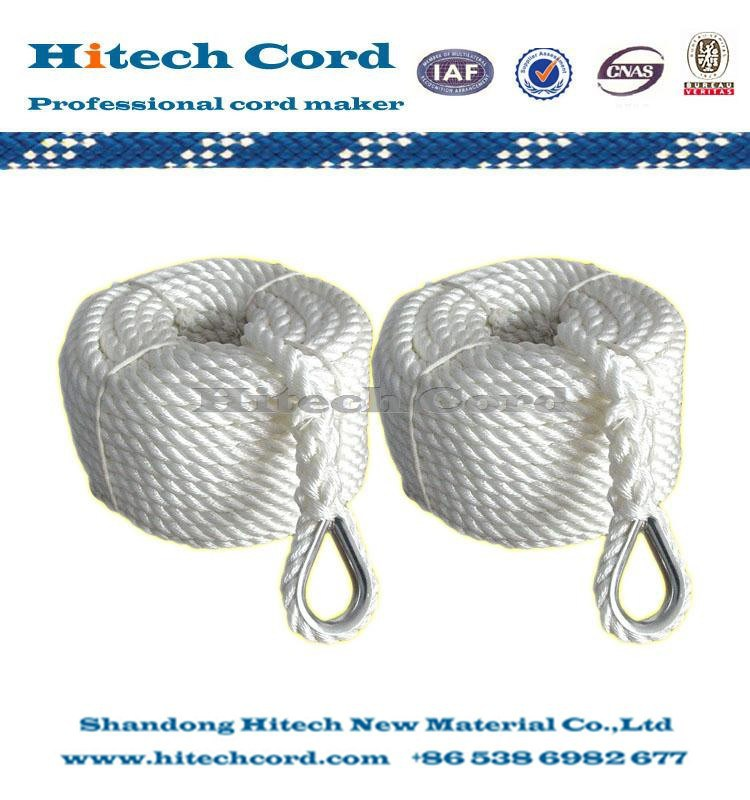 3 Nyllon 3 Strands Twisted Anchor Line2